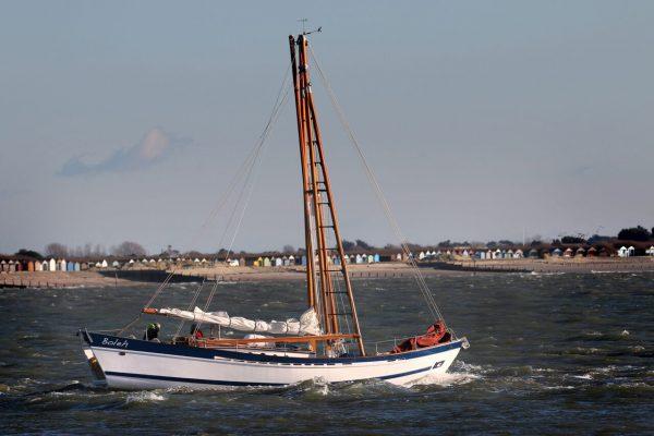 Boleh Leaving Chichester Harbour Master
