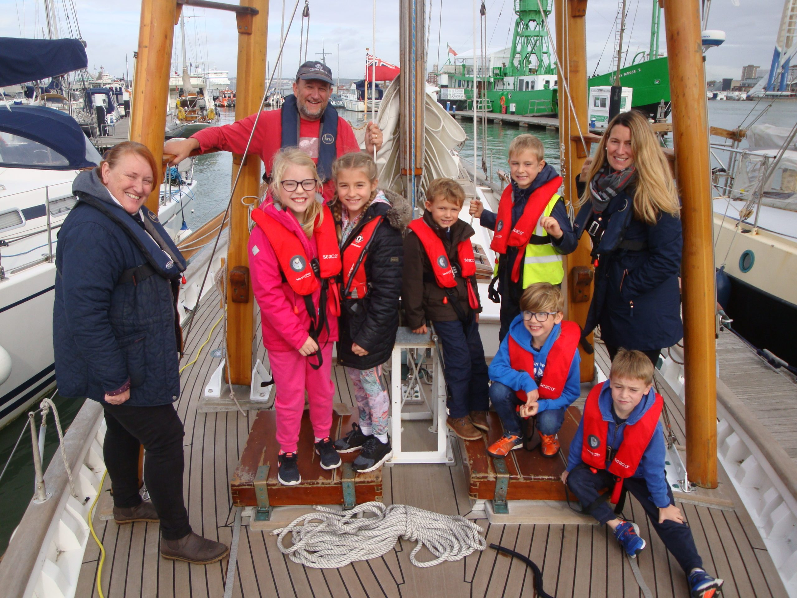 Halcyon and the Boleh Trust will work together to provide young people with an inspiring introduction to sailing