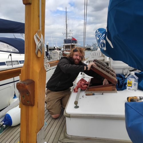 Keeping Boleh Ready For Sea